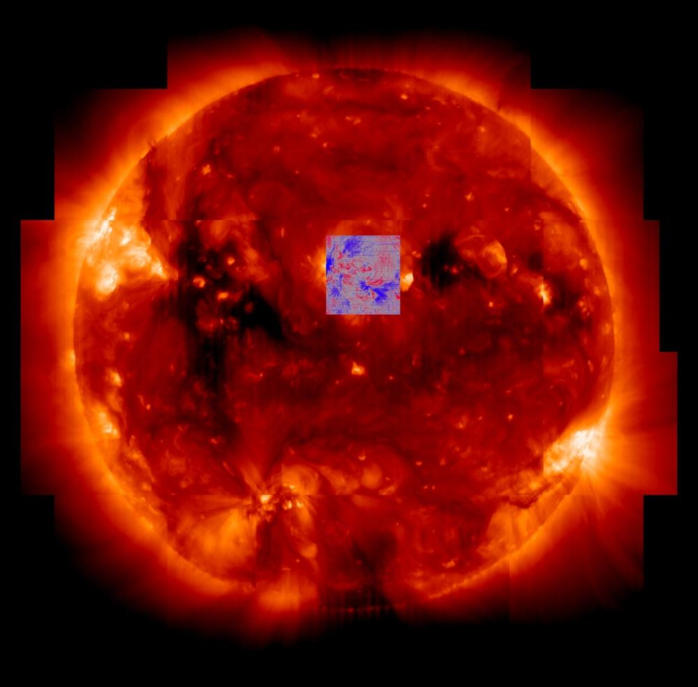 Solar Corona Image from Hinode
