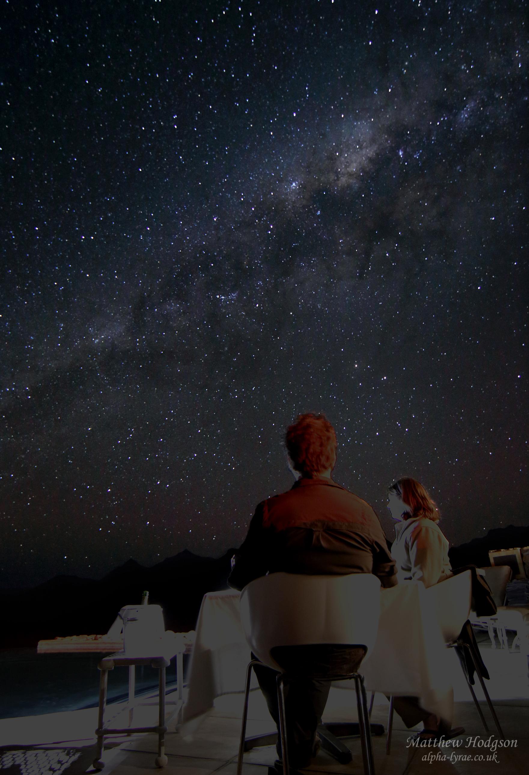 Dinning Under the Stars