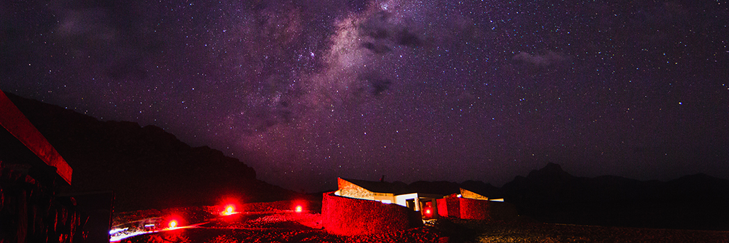 Stargazing in the NamibRand Nature Reserve Part 1