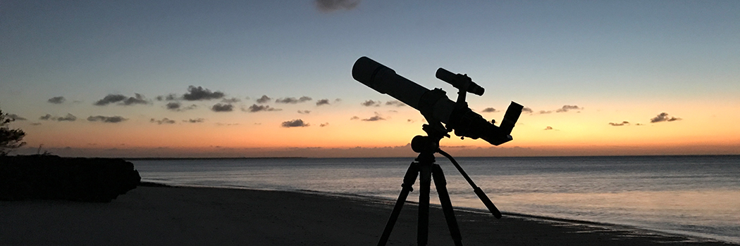 Stargazing on Vamizi Island Part One