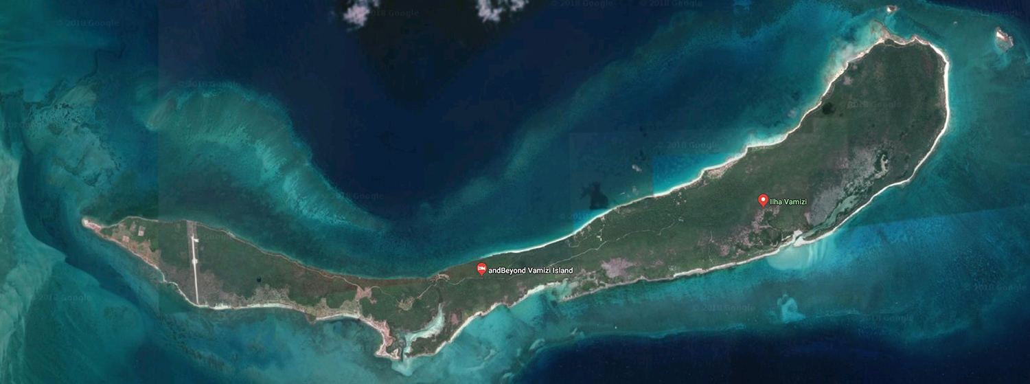 Vamizi Satellite Photo
