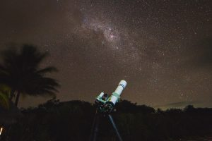My telescope pointed towards the Carina region of the Milky Way