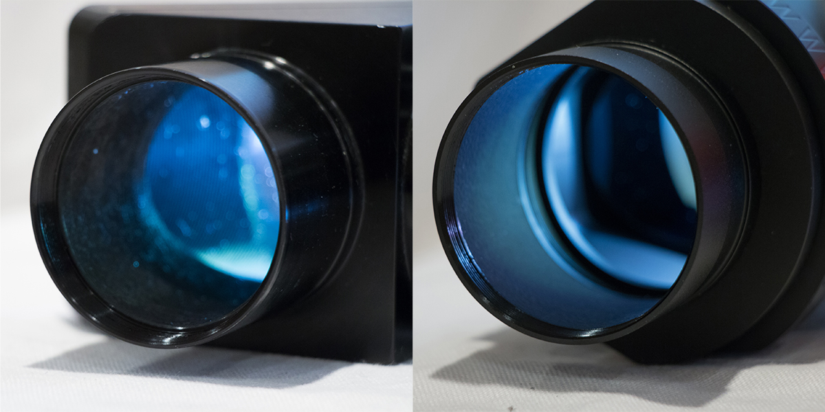 Comparison of the stray light suppression of my reference diagonal, the TeleVue Everbright and the Theia90.