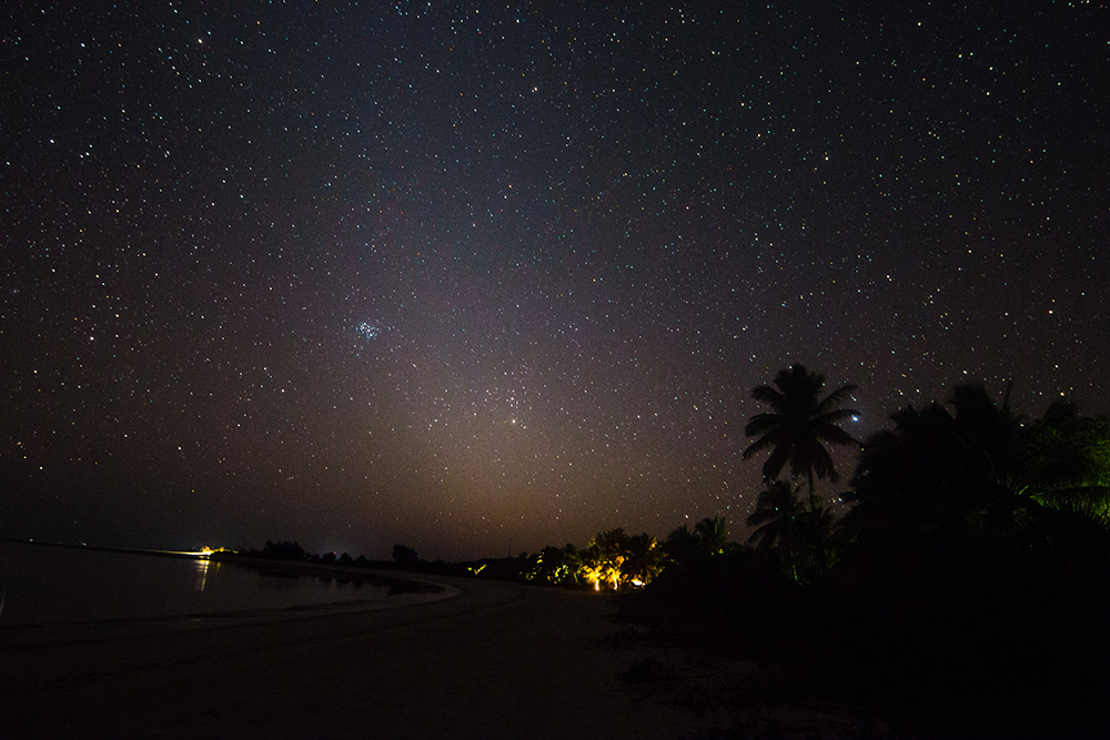 Image of the zodiacal light.